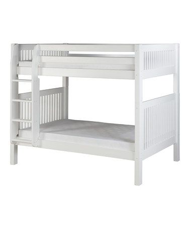 Take a look at this White Mission Bunk Bed by Camaflexi on #zulily today!