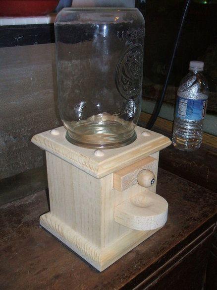 Wooden Gumball Machine Plans | DIY | Pinterest | Gumball machine, Gumball and Wood projects