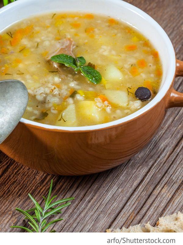 buchweizensuppe gretschnevyj sup russische rezepte was soup pinterest. Black Bedroom Furniture Sets. Home Design Ideas