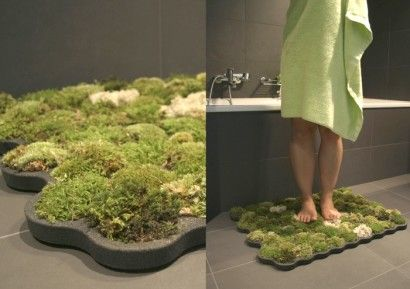 Great Created By Switzerland Based Industrial Designer La Chanh Nguyen, The Small  Indoor Greenspace Features · Bathroom RugsMoss GardenMoss ...