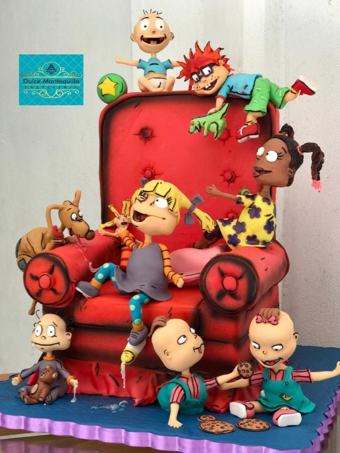 Rugrats Aventuras En Paales By Dulcemantequilla Cake