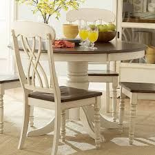 Round Country Kitchen Table Sets White And Chairs