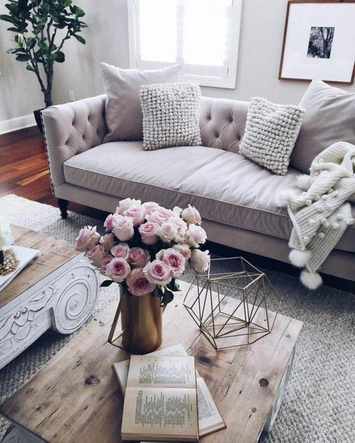 1001 ideas de c mo decorar un sal n en 5 pasos dise o for Living estilo romantico