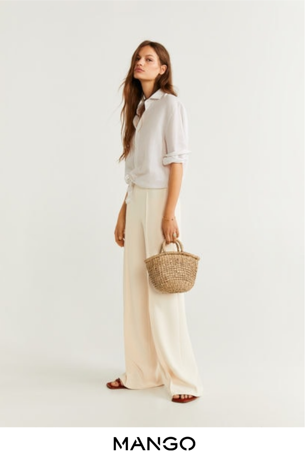 Photo of Camisa algodón botones –  Mujer | Mango España