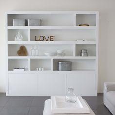 inbouw kast woonkamer - Google Search | stuc kast | Pinterest