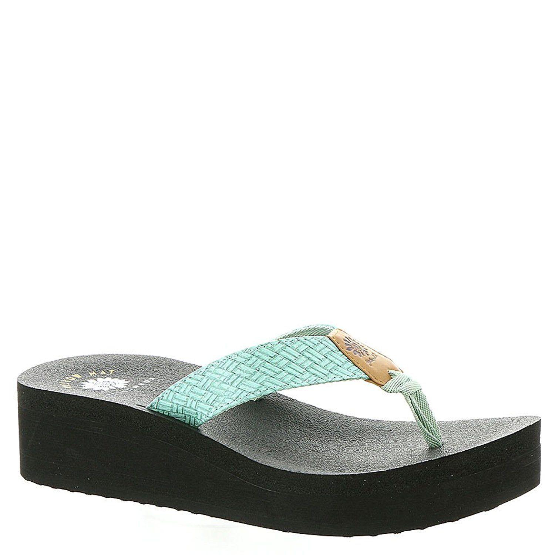 Yellow Box Womens Ismene Open Toe Casual Platform Sandals Tan Size 60