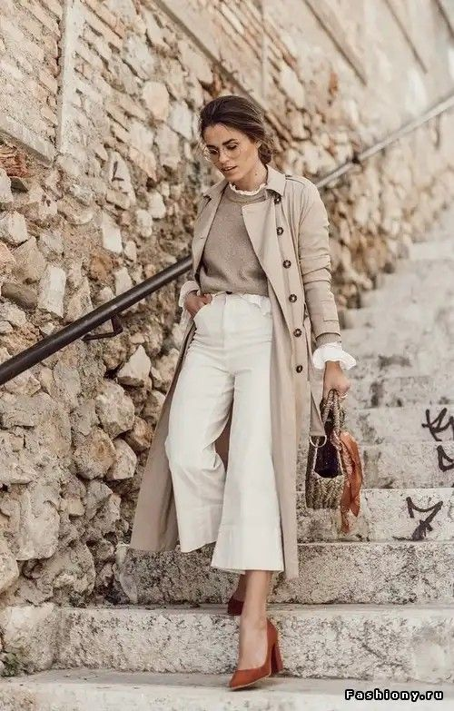 20 looks with a trench coat for testing in winter
