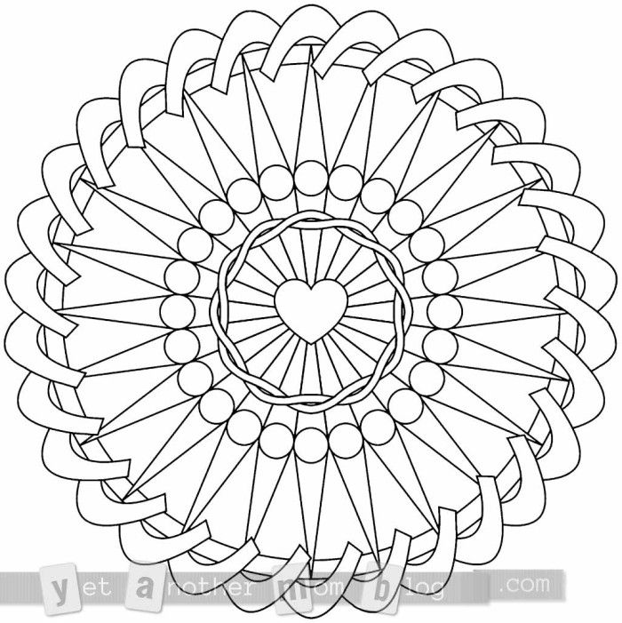 How To Create A Mandala Coloring Page Mandala Coloring Pages
