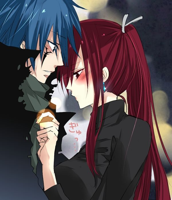 fairy tail jellal and erza things that set my nerdy