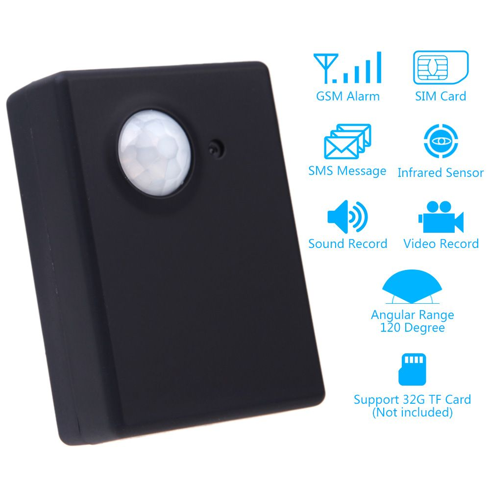 Wireless 13mp Infrared Camera Video Security Motion Detector Gsm Door And Window Monitoring Antitheft Alarm Circuit Home Office Pir Sms Mms
