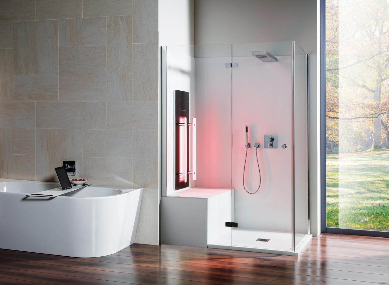 Repabad Infrarot Fuer Die Dusche Bilbao 02 Dusche Umgestalten Bad Design Dampfdusche