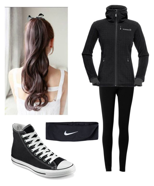 """""""Untitled #57"""" by riasoccer on Polyvore featuring Converse, Max Studio and NIKE"""