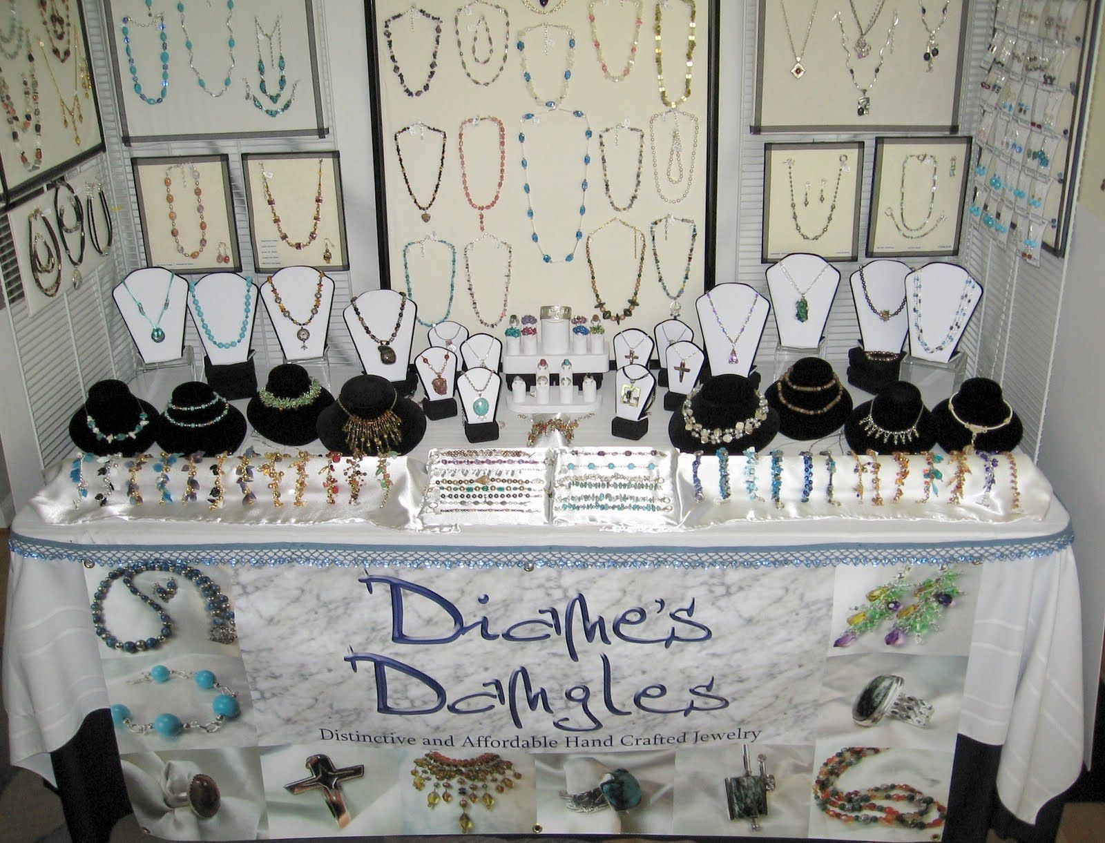 Craft booth display ideas jewelry booth display arts for Jewelry displays for craft fairs