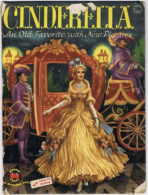 Cinderella Wonder Books 1954 Illustrator Ruth Ives Next See