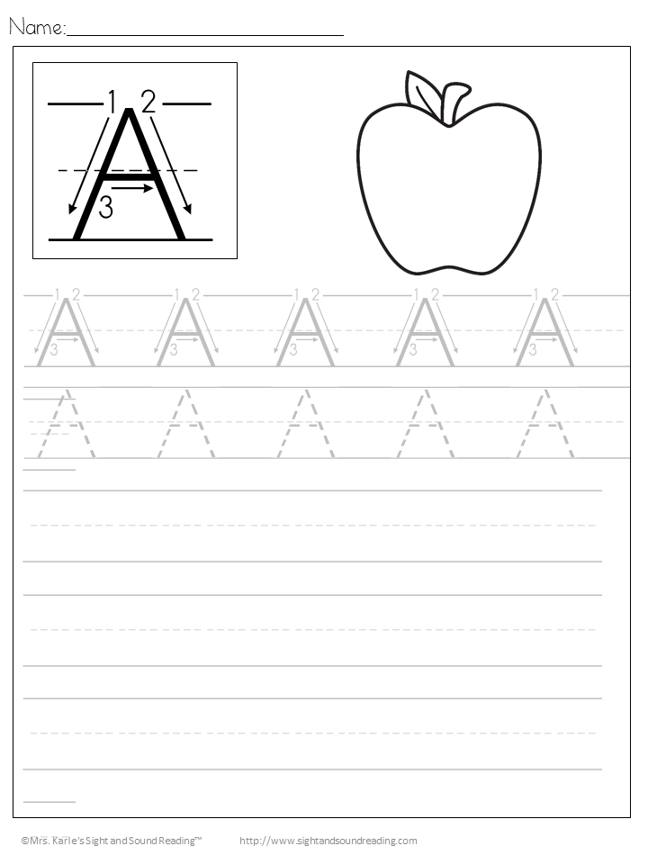 Handwriting: Free Handwriting Practice Worksheets for Kids ...