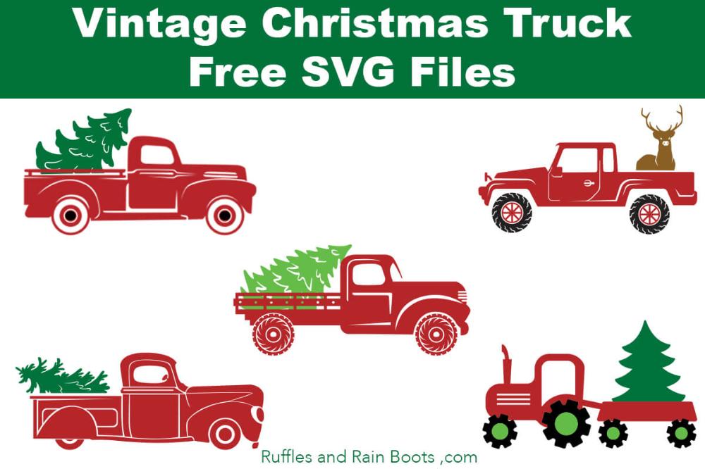 Free Christmas Truck SVG Files Christmas svg files, Free