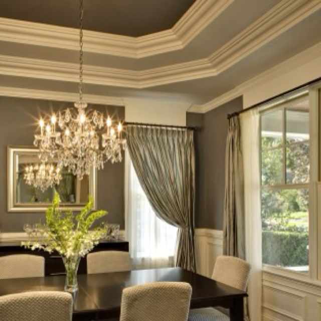 High End Bedroom Furniture Simple Bedroom Lighting Bedroom Ideas Grey And White Painting Your Bedroom Furniture: Loveeee The Crown Molding