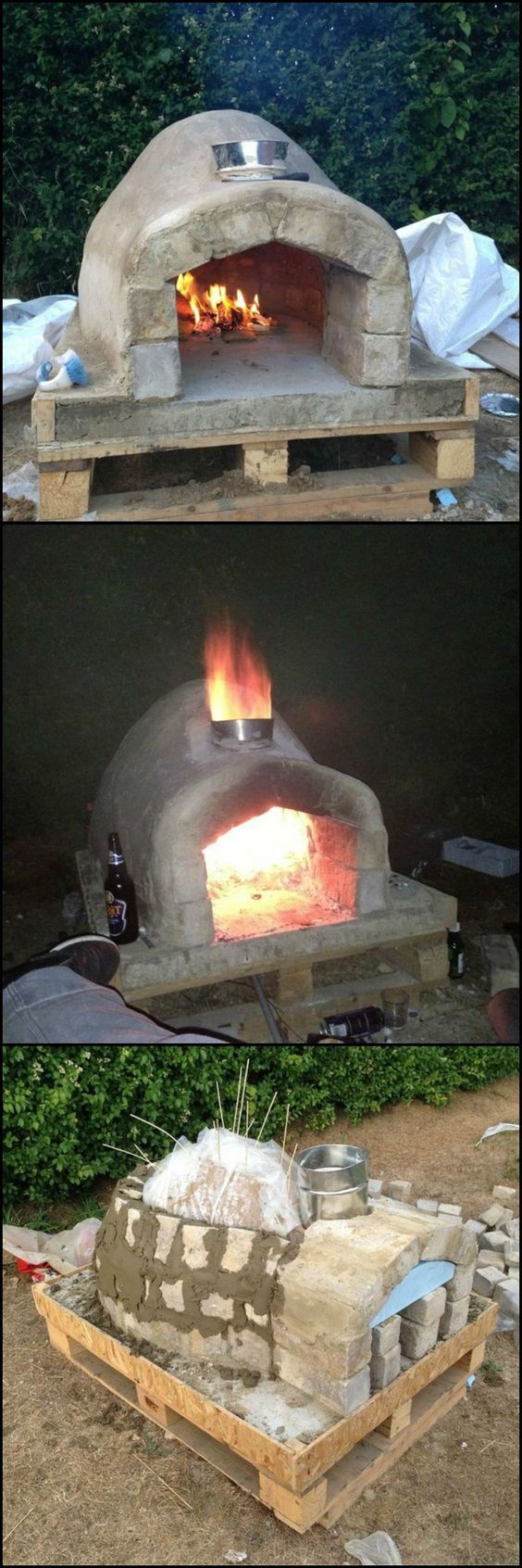 How to Make an Outdoor Pizza Oven Everybody loves pizza ...