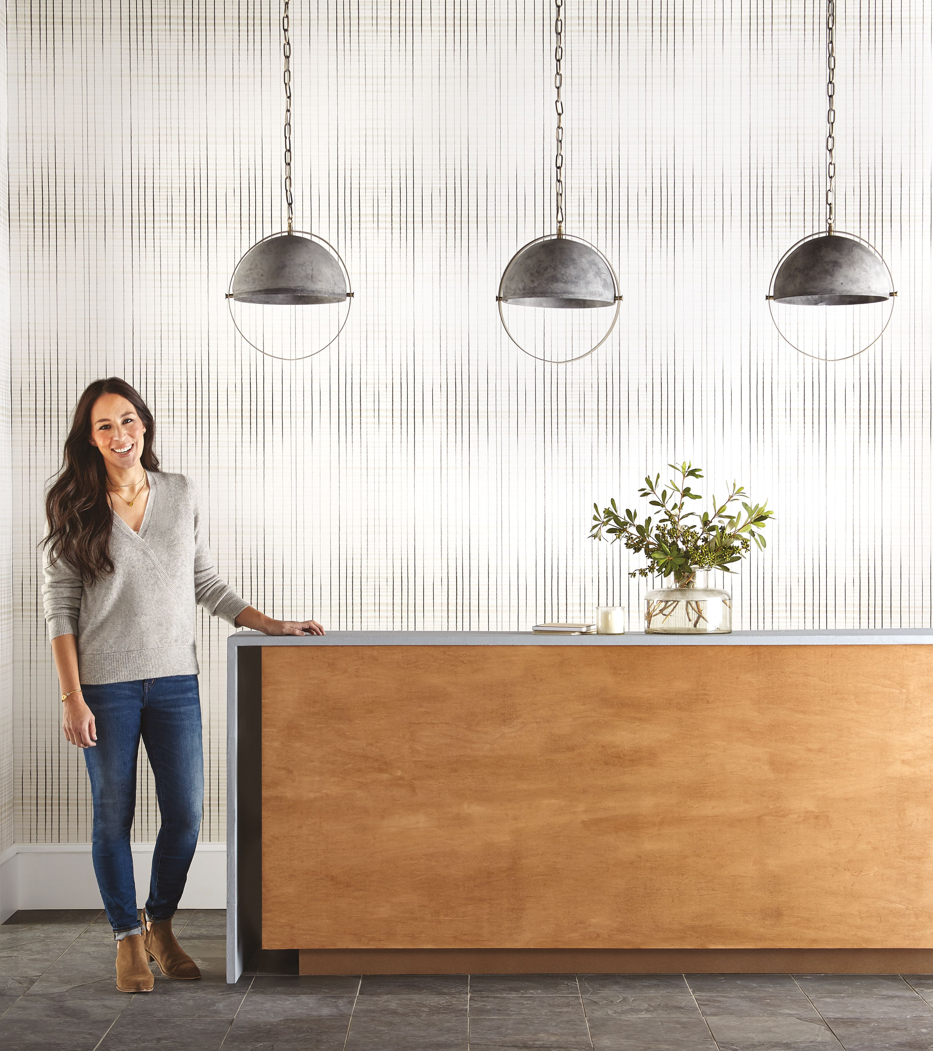 Joanna Gaines Does It Again Inkwell Type 2 Vinyl Wallcovering For Your Office Salon Restaurant Or Any Magnolia Homes Wall Coverings Joanna Gaines Wallpaper