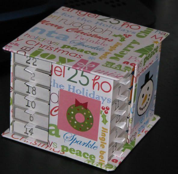 Diy Matchbox Advent Calendar : Matchbox advent calendar crafts pinterest
