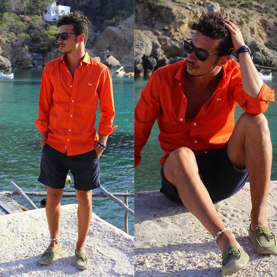Nau Sunglasses Harmont Blaine Shirt Jack Jones Shorts Andytom Shoes My Fashion Eye