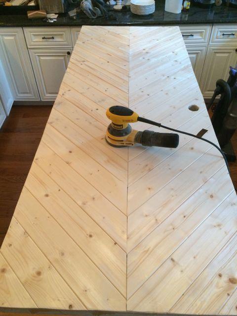 Photo of DIY Herringbone Door Tutorial
