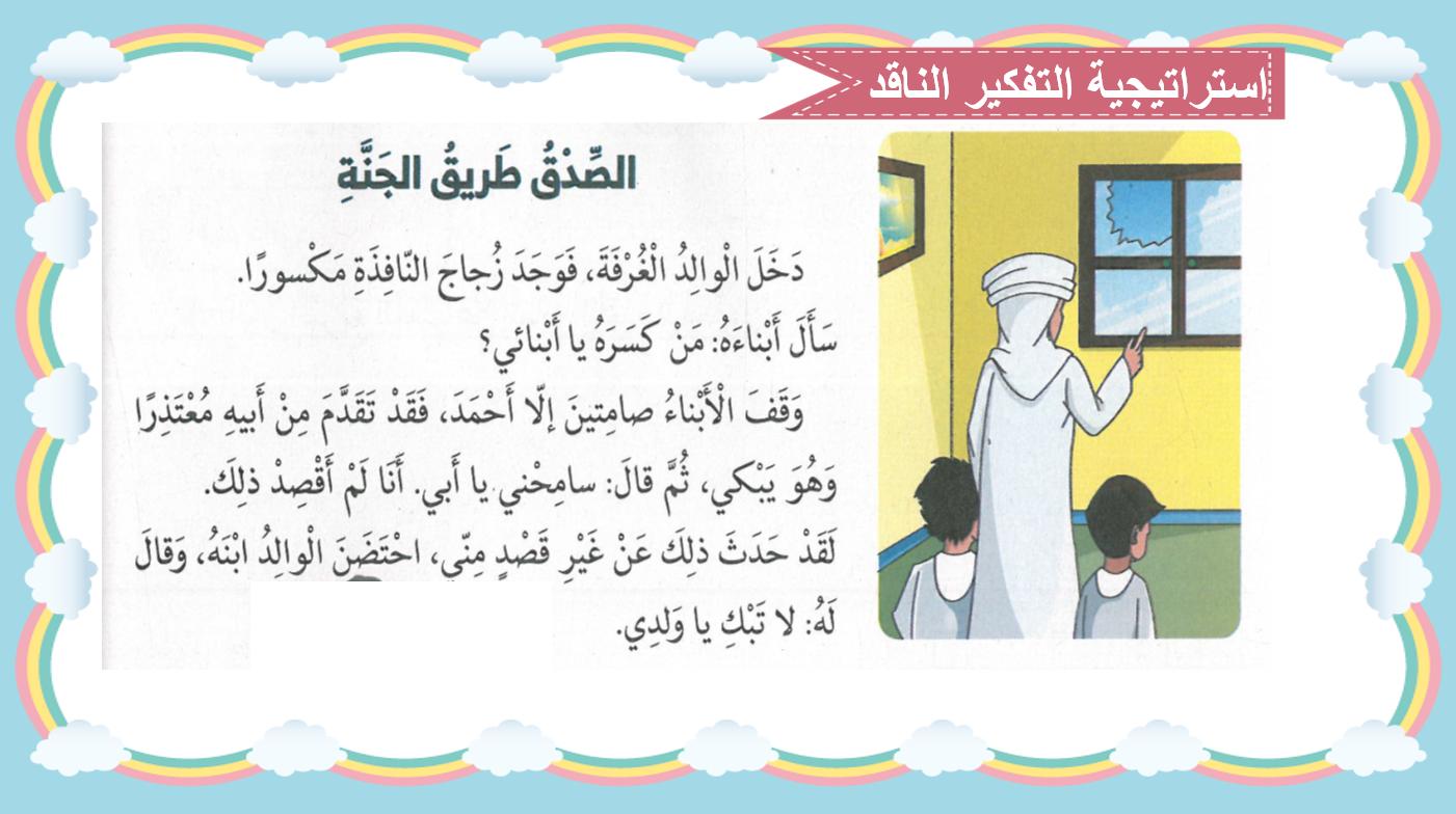 بوربوينت درس الصدق طريق الجنة للصف الاول مادة التربية الاسلامية Bullet Journal Journal