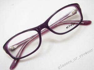 c48faa64aa Eyeglass Frames Oakley Entranced Purple Shade OX1063 0252 Glasses Specs  Frame