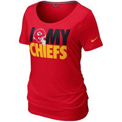 Nike Kansas City Chiefs Team Dedication Women's NFL Tee Shirt