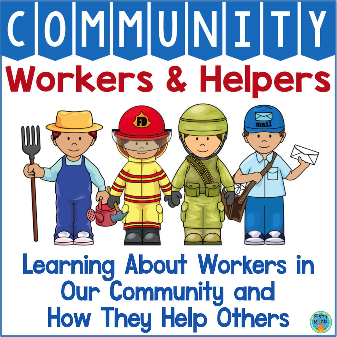 Community Workers And Helpers Kindergarten Prek With
