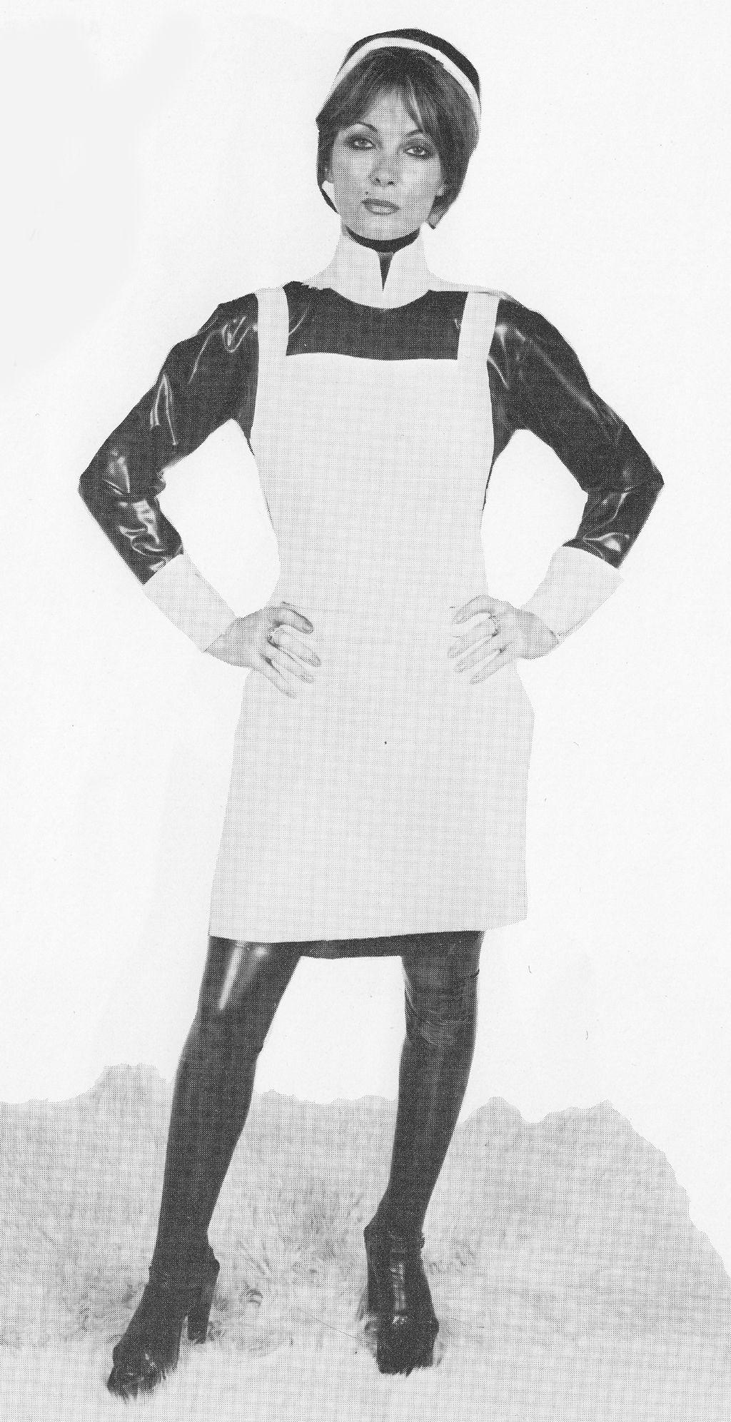 Vintage Latex Nurse