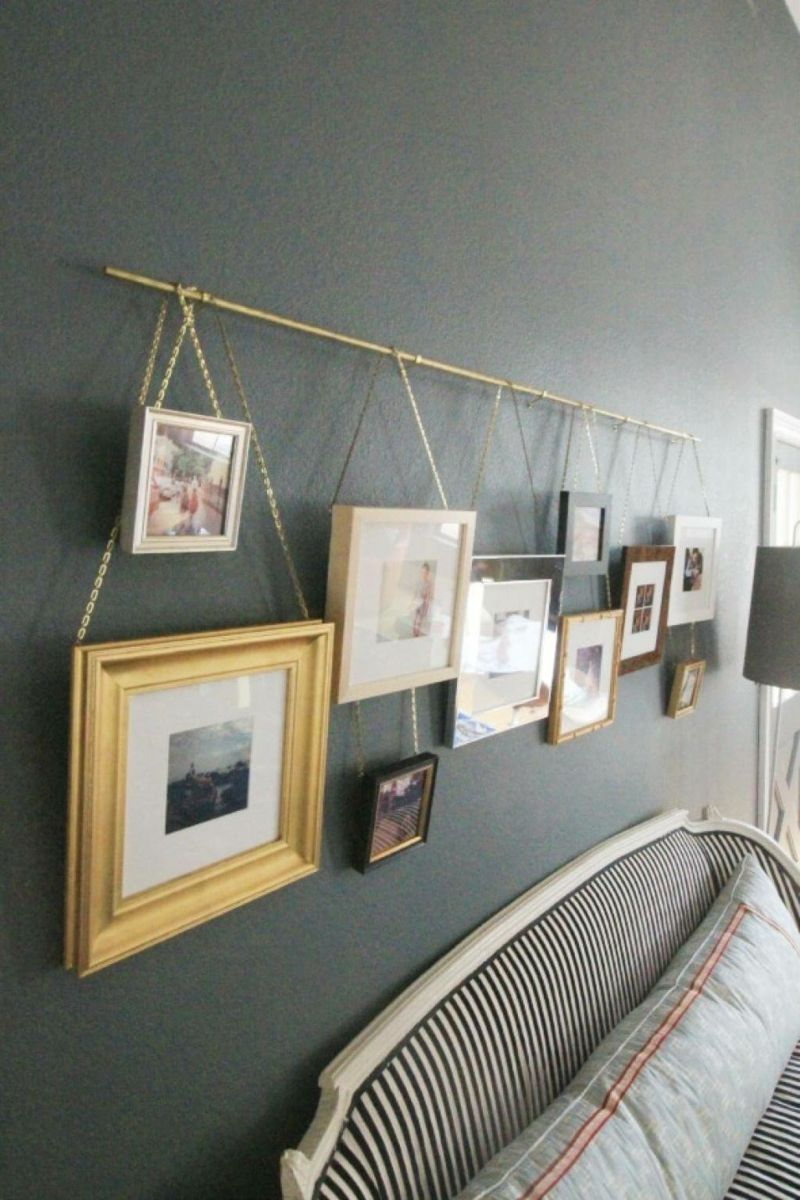 Nette idee bilder zu arrangieren diy wanddekoration for Wohnzimmerwand gestalten