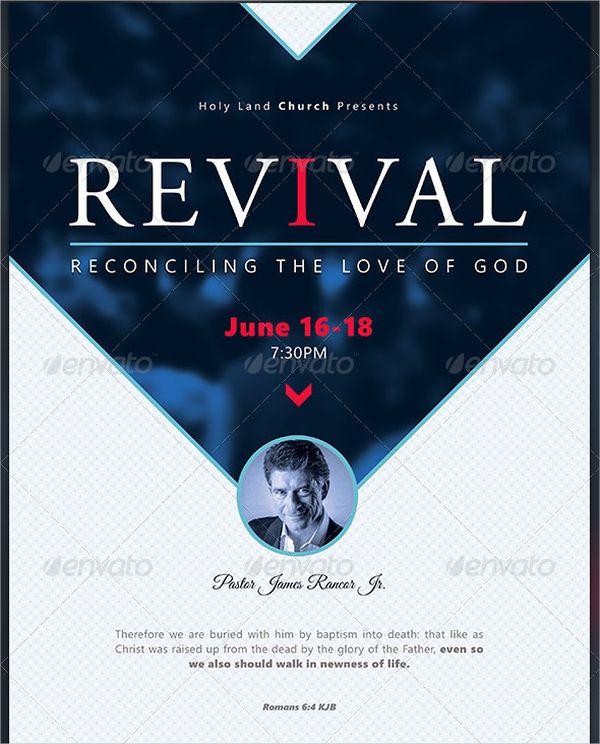 Reconciliation Revival Church Flyer Church Ads Pinterest Flyer