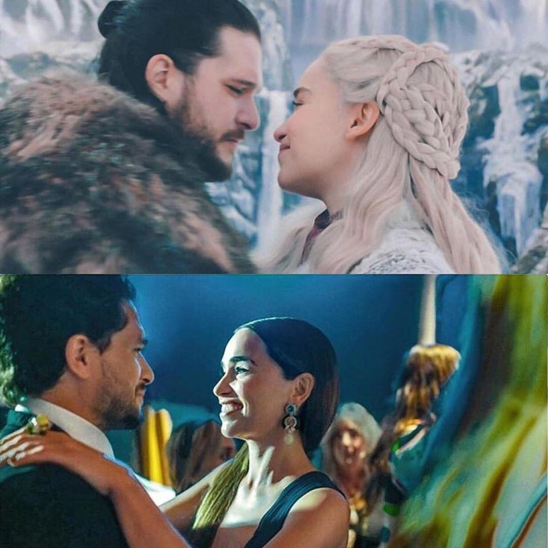 Kit and emilia aka daenerys and jon   A dance with dragons ...