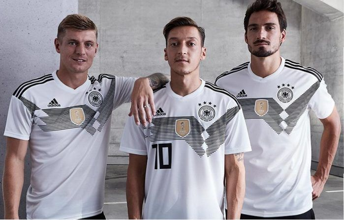 Germany 2018 World Cup Adidas Home Kit Football Fashion Org Football Fashion World Cup Kits World Cup