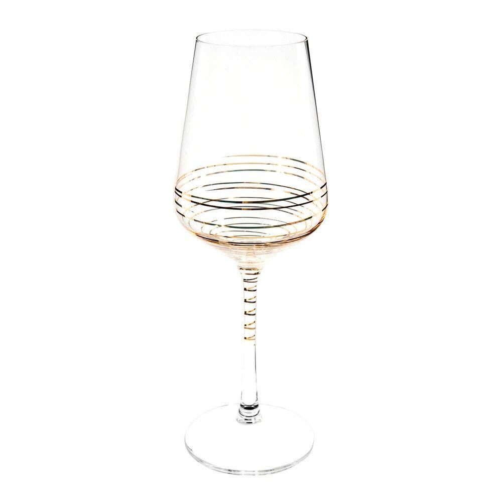 Verre A Vin Coloris Or Maisons Du Monde Verre De Vin Luminaire Maison Du Monde Vin