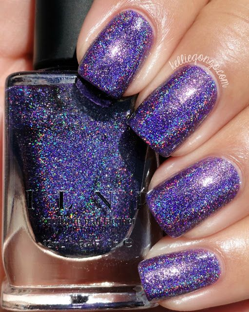 Brand: ILNP // Collection: Summer 2015 Ultra Holos // Color: Walking Home // Blog: Kellie Gonzo