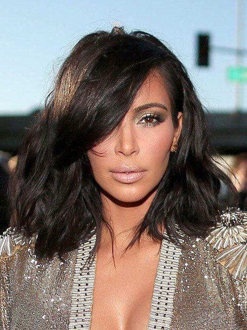 Pin by AZRA on Vanity   Dark hair, Kim hair, Kim