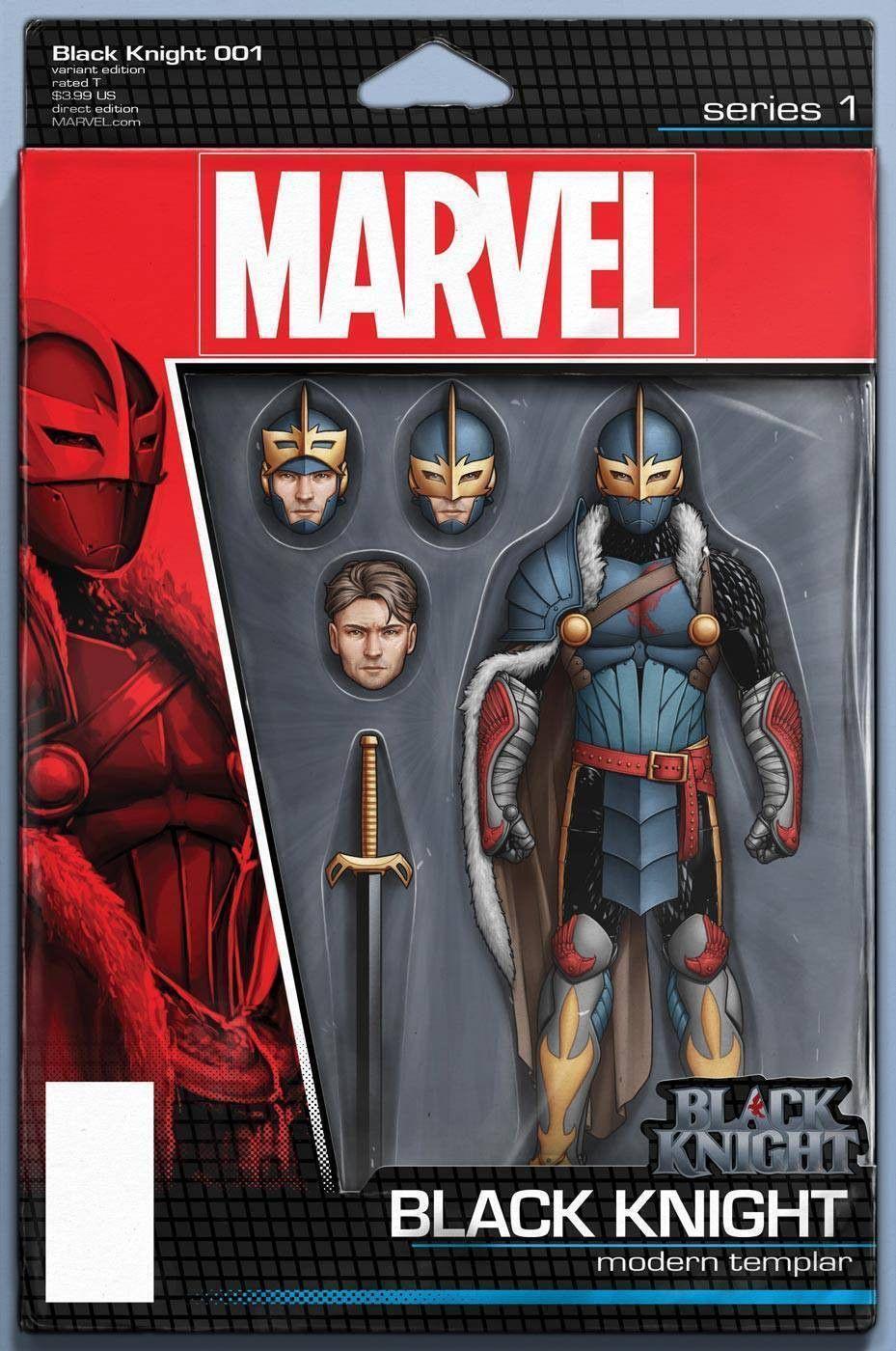 Black Knight #1 001 Variant Edition Toy Cover Marvel Comics vf//nm CB2887