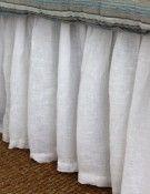 Linen Voile Bedskirt