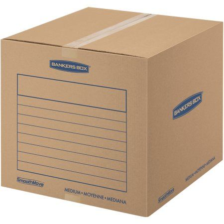 Bankers Box SmoothMove Basic Storage and Moving Boxes Medium 20pk   HOME CENTER   Pinterest   Moving boxes Storage and Walmart  sc 1 st  Pinterest & Bankers Box SmoothMove Basic Storage and Moving Boxes Medium 20pk ...