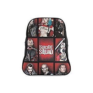 Suicide Squad Children School High-grade PU Leather Backpack Bag ... af15f2048971d