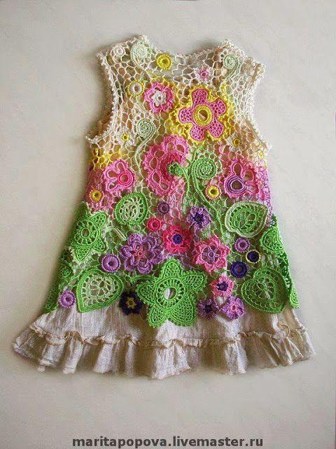 Letras e Artes da Lalá: blusa de crochê   BABY CROCHET   Pinterest ...