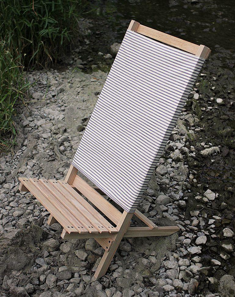 DIY Wooden Camp/Beach Chair | Beach chairs, Woodworking ...