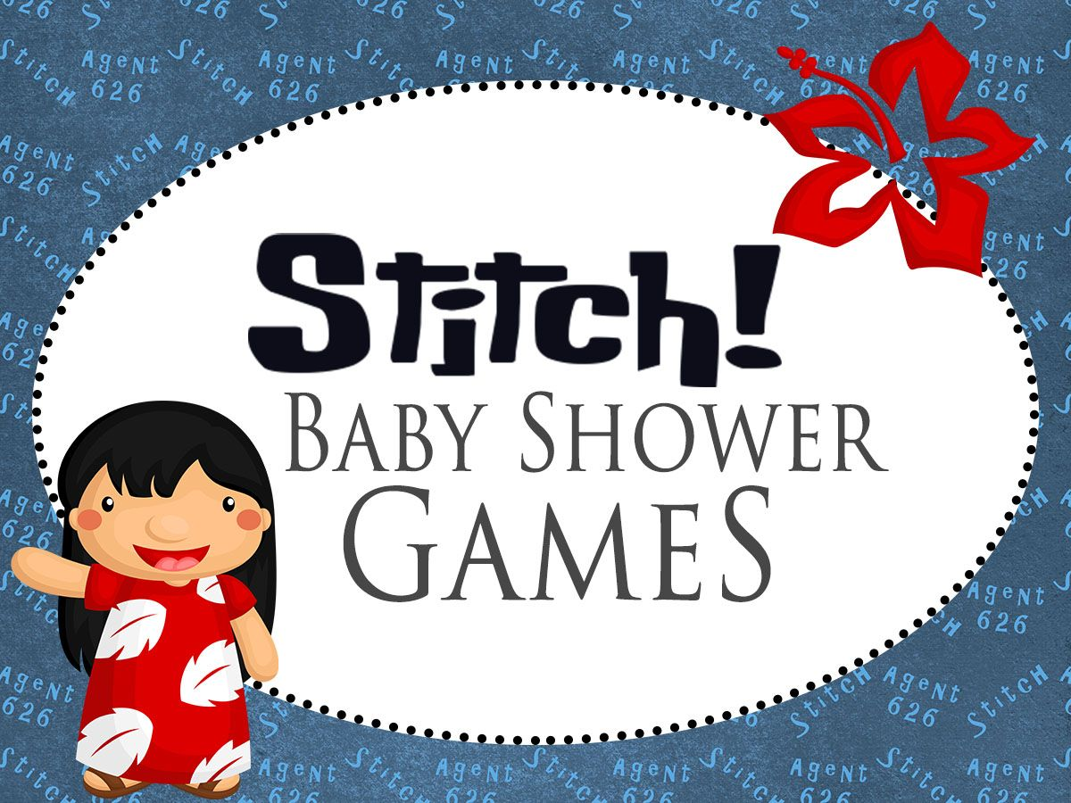 Lilo And Stitch Baby Shower Printable Games Baby In 2018