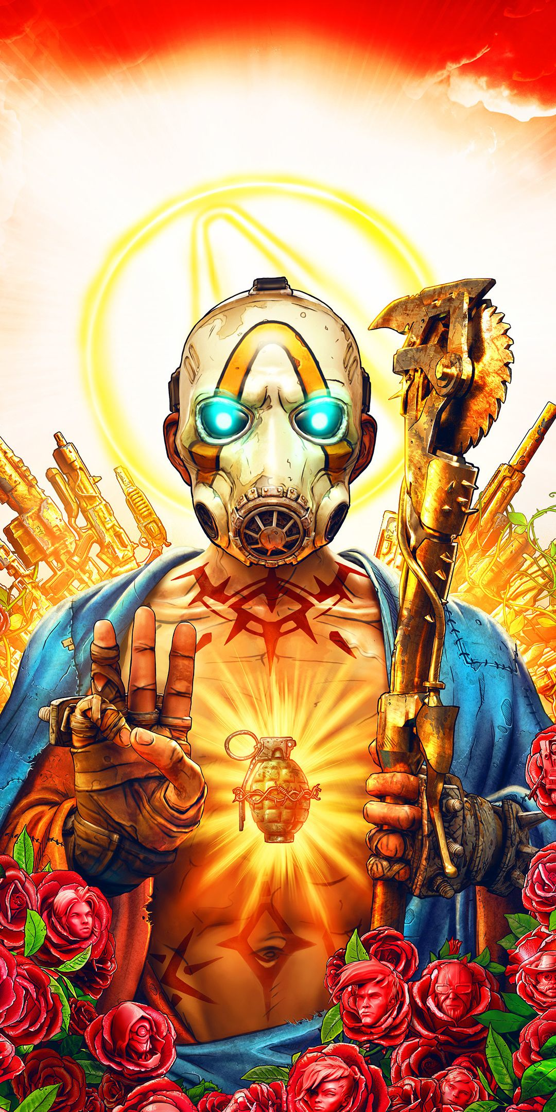 Video Game Poster Borderlands 3 Wallpaper Borderlands Art