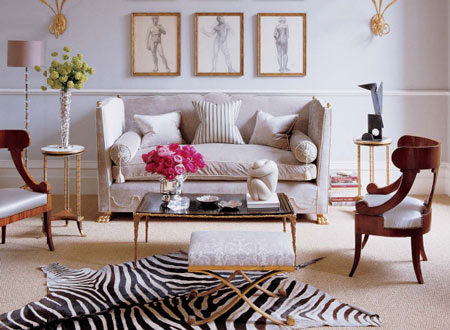 Textbook Tuesday Chic Living Room Living Room Decor Interior