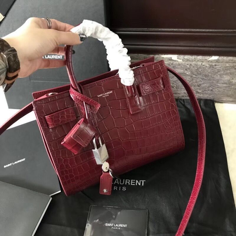 Saint Laurent Nano Sac De Jour Bag 100% Authentic  4297df467fb09