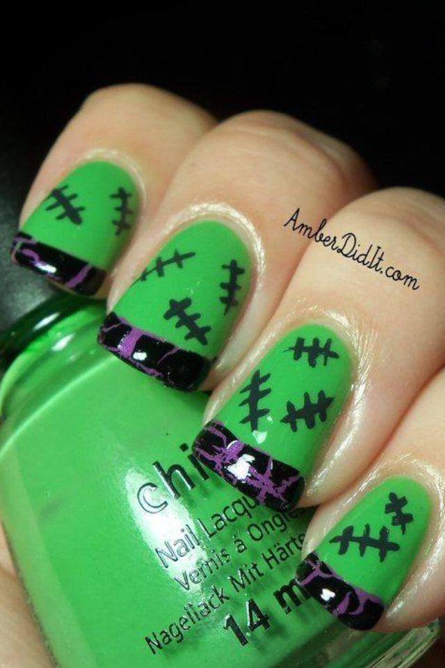 23 Crazy Halloween Nail Designs You Can Do At Home ...