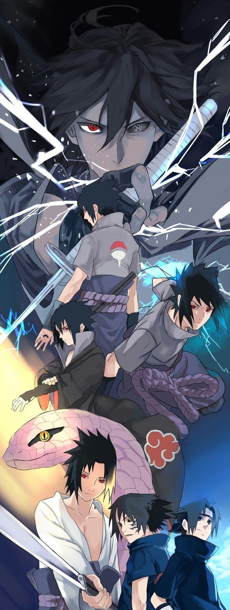 Sasuke, The Strongest Uchiha member, rival of Naruto ...